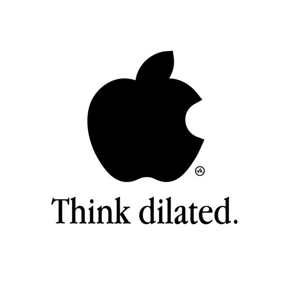 Creative Apple Logos Dilated