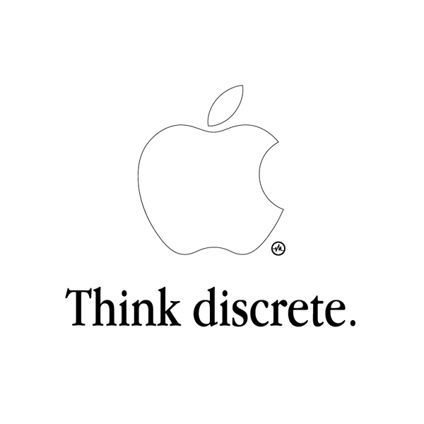 Creative Apple Logos White