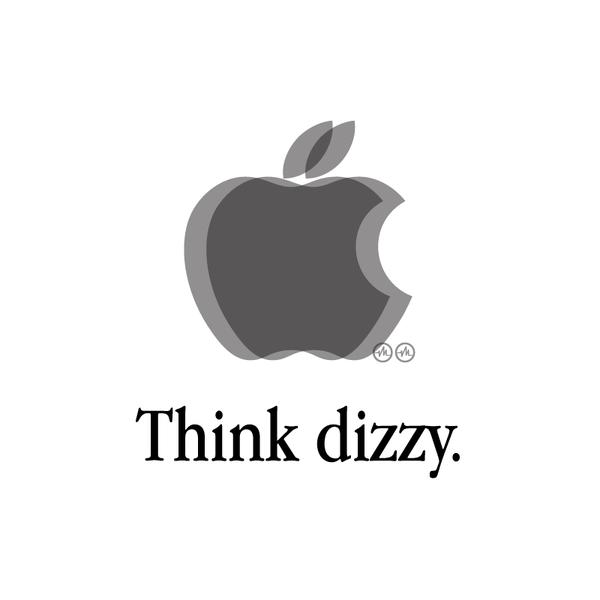 Creative Apple Logos Dizzy