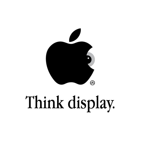 Creative Apple Logos Eye