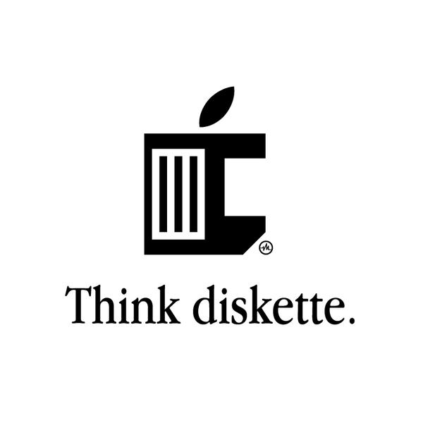 Creative Apple Logos Leaf