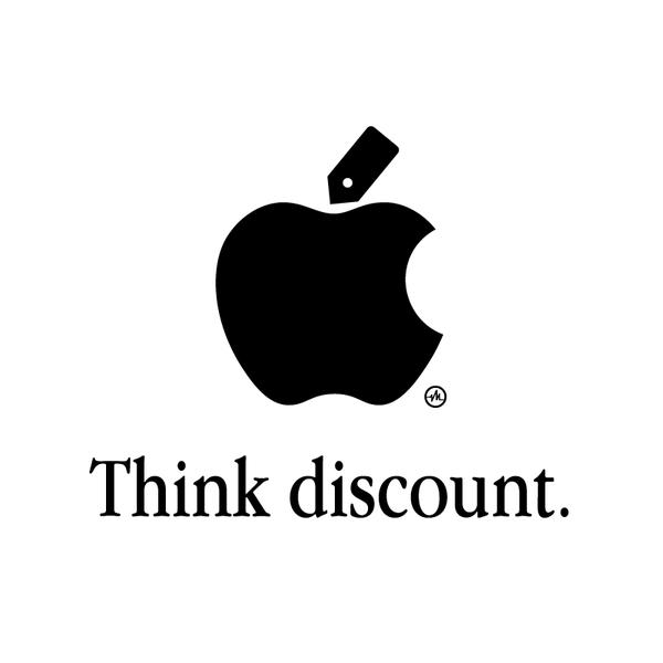 Creative Apple Logos Discount