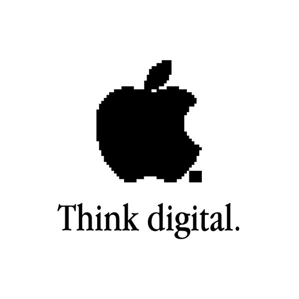 Creative Apple Logos Digital