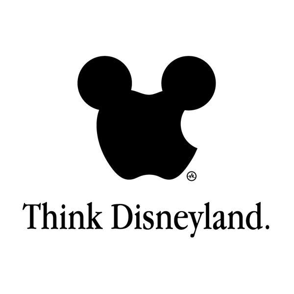 Creative Apple Logos Disneyland