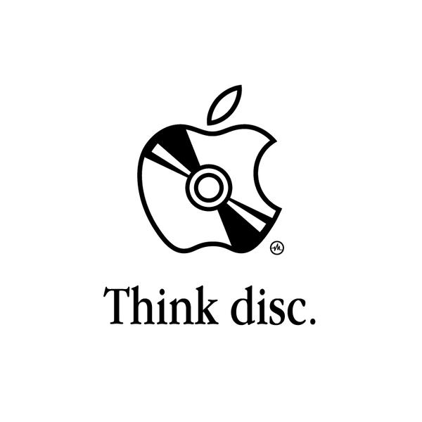 Creative Apple Logos Disc