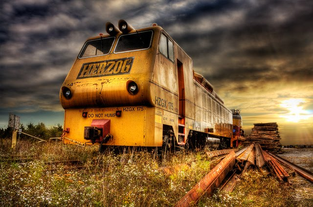 20 HDR Photography of Trains