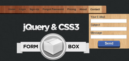 25 jQuery Menu Tutorials