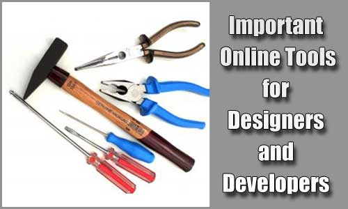 15+ Useful Tools for Web Designers and Developers